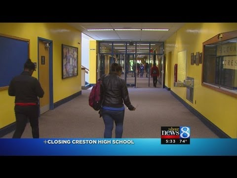 Closing down Creston High School in Grand Rapids