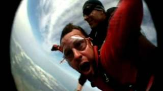 Wes Brown Sky Dives