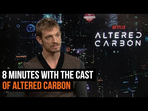 8 Minutes With The Cast of Altered Carbon