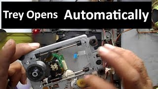 How to Repair DVD Player Trey Automatically Open Up