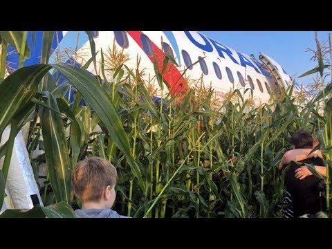 Аварийная посадка пассажирского самолета А321 в Жуковском. Главное.