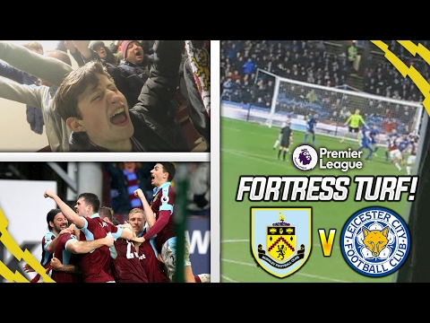 7 HOME WINS IN A ROW!!! - BURNLEY VS LEICESTER VLOG!!!