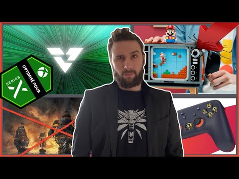 La Console LEGO🔥 Xbox Velocity & Jaquettes SX, Skull and Bones Reboot Fortnite & StadiOrc Must Die☠️