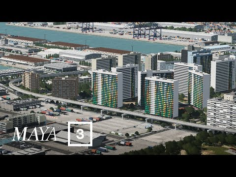 Residential Zone - Cities Skylines: Maya [EP 3] |