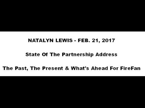 STATE OF THE PARTNERSHIP - Natalyn Lewis