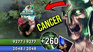OMG NEW CANCER GIANT MUMMY 9000 HP - Midlane Undying 1Vs5 Freaking Mummy Comes Back to Life Dota 2