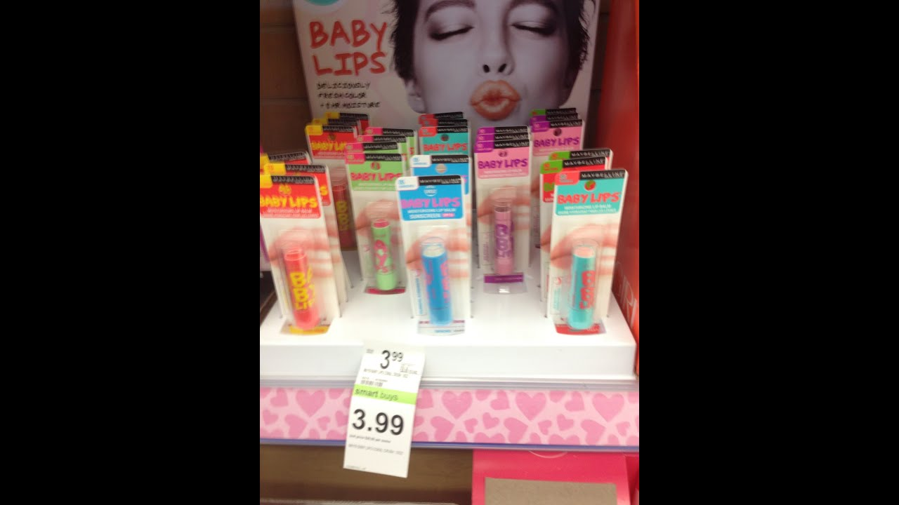 New Limited Edition Maybelline Baby Lips Scents Flavors