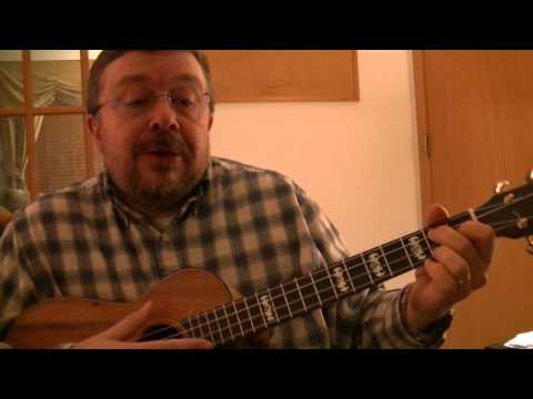 """Willard Losinger performs """"Jean and Dinah"""" by the Mighty Sparrow with Baritone Ukulele Accompaniment"""
