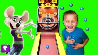 WHO We Found at CHUCK E CHEESE Arcade Part 2 by HobbyKidsTV