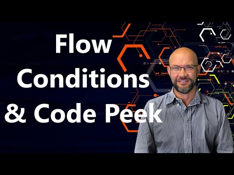 Microsoft Flow Tutorial - File handling | Part 7: New Conditions and Code  Peek
