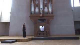 "J.S.Bach Easter Oratorio ""Magnificat"" (Quia respexit...) Nelly Gasparyan"