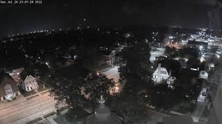 Preview of stream Miami County, Ohio - Southwest Live View from top of the Historical Courthouse