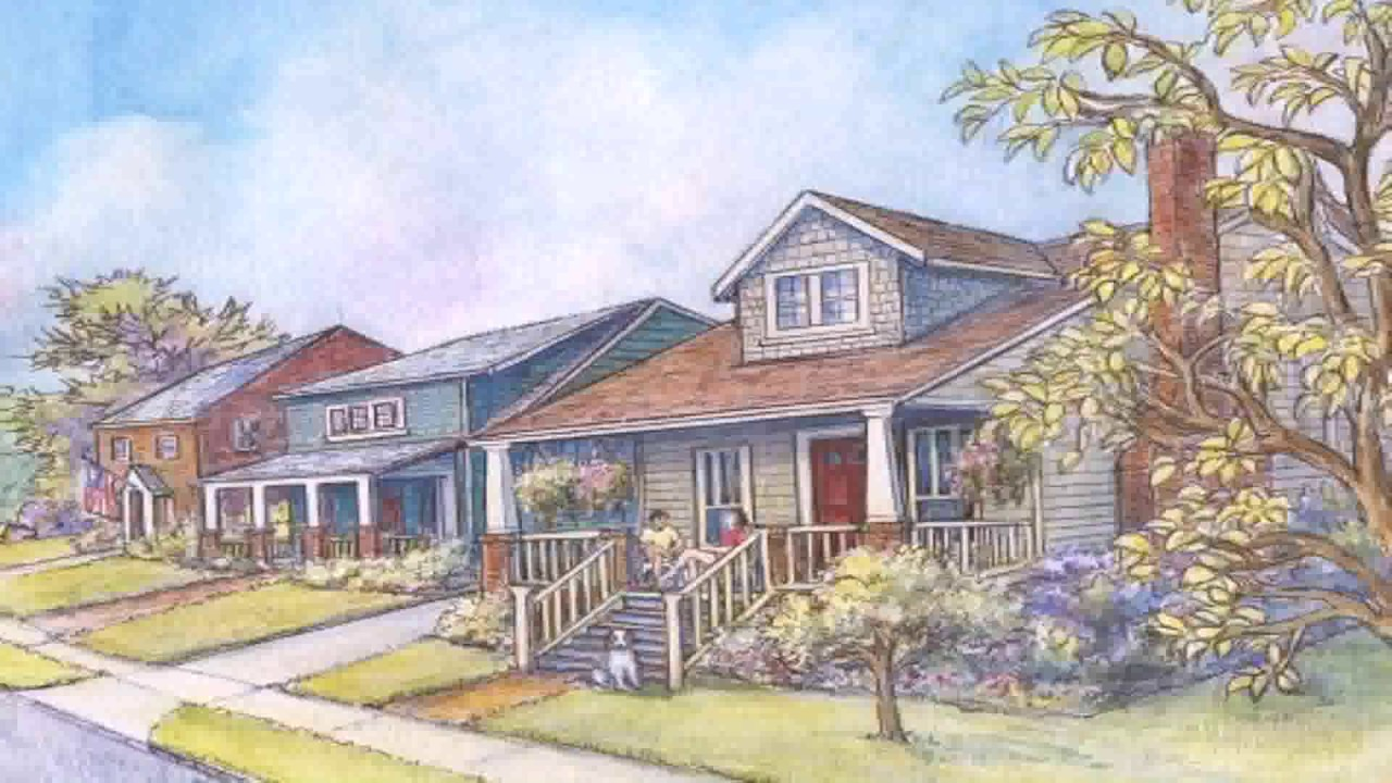 Craftsman house style definition youtube for Craftsman vs mission style
