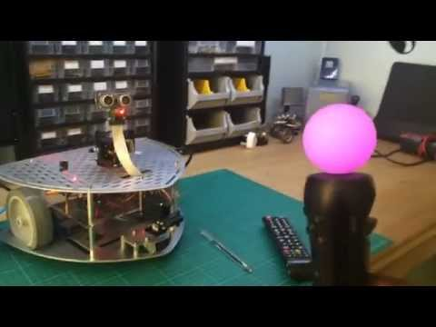 Roomba with OpenCV Image Processing and Raspberry Pi by
