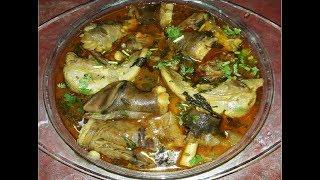 Hyderabadai  Nahari Recipe l Paya And Zaban Nihari l Bakrid Special l Eid Al- Adha Special l Norien