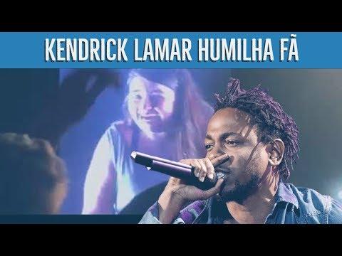 KENDRICK LAMAR HUMILHA FÃ EM PALCO - QUERO LÁ SABER #35