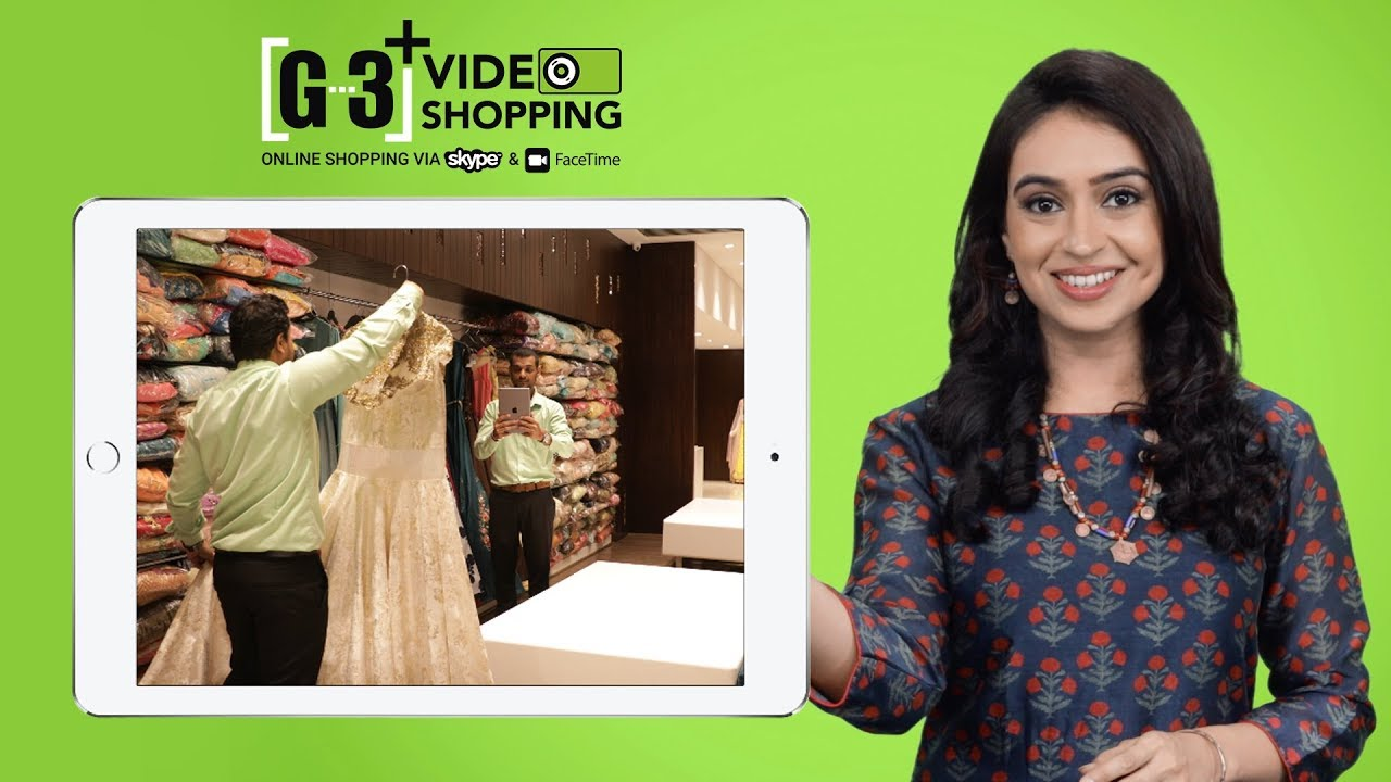 New Way of Online Shopping - G3+ Video Shopping on Video