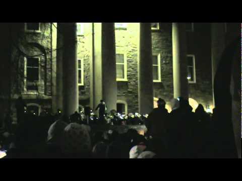 Penn State Blue Band Joe Paterno Tribute Amazing Grace & Alma Mater Candlelight Vigil
