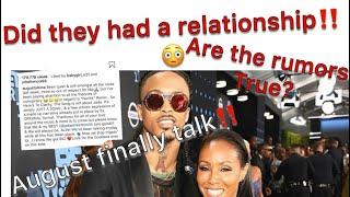 August Alsina Explains Nunya lyrics | August Alsina Alleged relationship with Jada Smith | Kelani