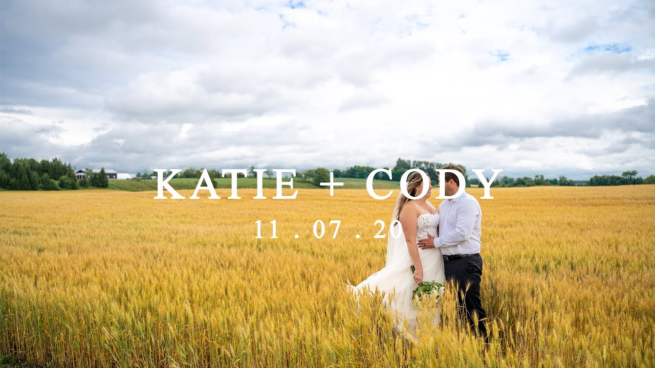 Katie and Cody - A Canadian Wedding Film