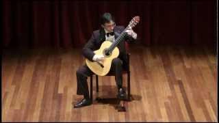 J.S.Bach-Suite BWV 995, Prelude-tres viste (Presto) - Luis Alejandro García, Guitar