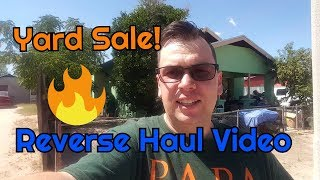 Pop Up Shop Yard Sale Reverse Haul Video - Triple Z Resale Season 2 Episode 12