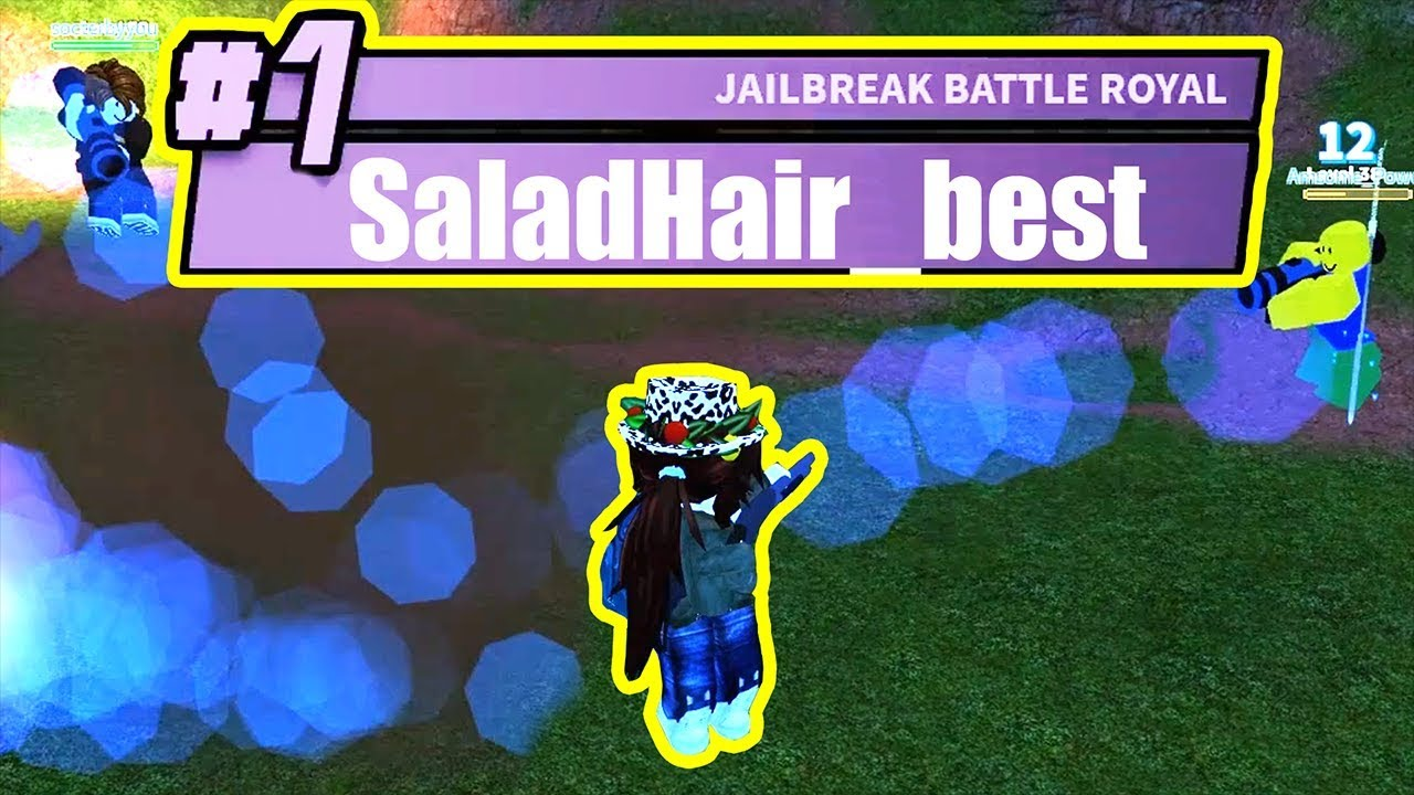 ultimate disguise salad hair battle royale mode roblox