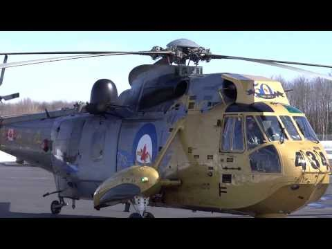 Sikorsky CH-124 (S-61) Sea King, starting+taxi