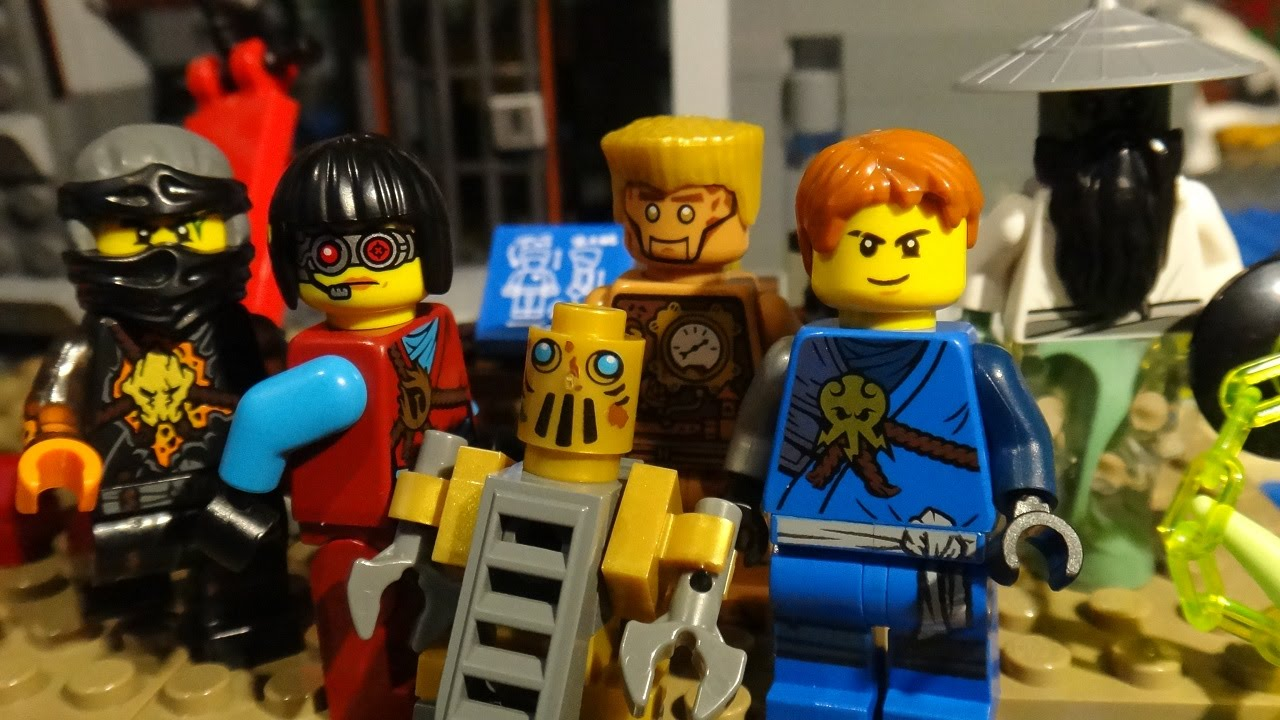 LEGO NINJAGO - RISE OF SENSEI YANG PART 7 - VILLAIN ATTACK ...