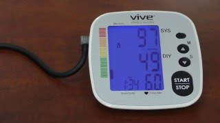 How to Use a Blood Pressure Monitor - Vive Health