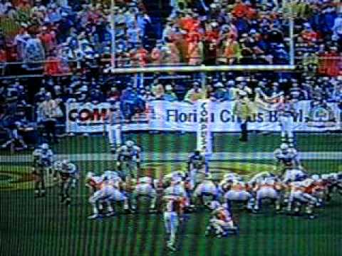 Peyton Manning to Joey Kent vs Buckeyes (1995 Citrus Bowl)