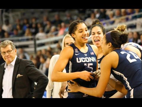 UConn Women's Basketball Highlights vs. East Carolina 01/24/2017