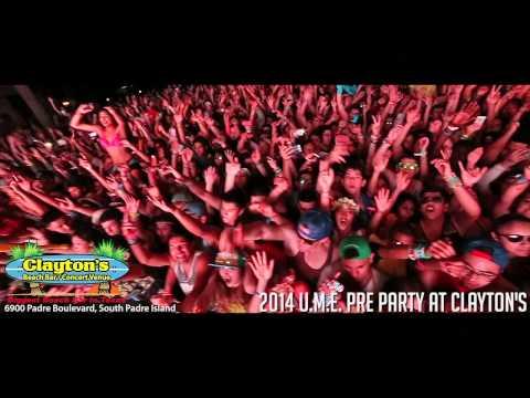 UME Pre-Party South Padre Island Spring Break 2014
