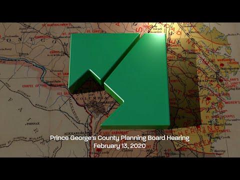 M-NCPPC Planning Board Meeting - February 13, 2020