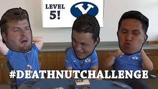 BYU Football attempts the Death Nut Challenge!