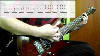 Muse - Hysteria (Guitar Cover) (Play Along Tabs In Video)