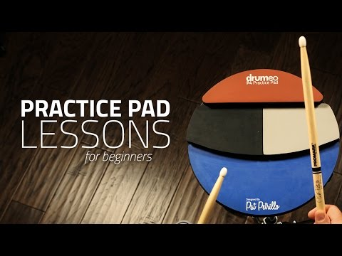 Practice Pad Lesson For Beginners - Drum Lesson (Drumeo)