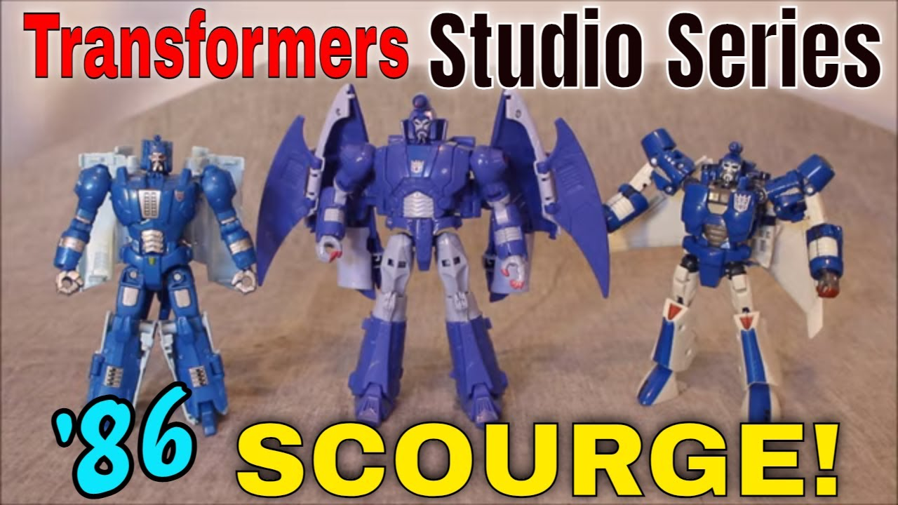 The Huntsman: Studio Series 86 Scourge Review by GotBot