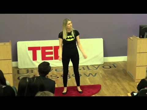 Superheroes vs Stigma | Lindy Irving | TEDxUniversityofGlasgow