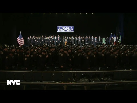 Mayor de Blasio Delivers Remarks at the NYPD Graduation Ceremony