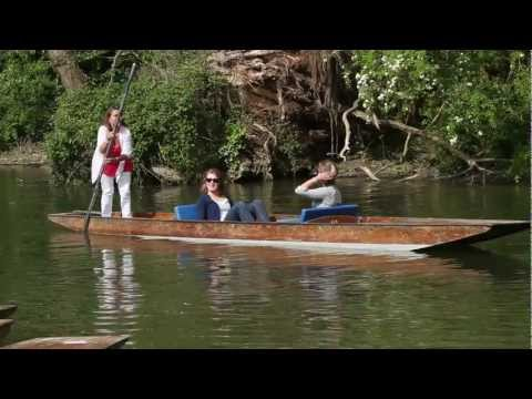 "Cherwell Boathouse  ""How to punt"""