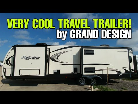 Check out this cool Grand Design Travel Trailer RV Floorplan! Reflection 300RBTS