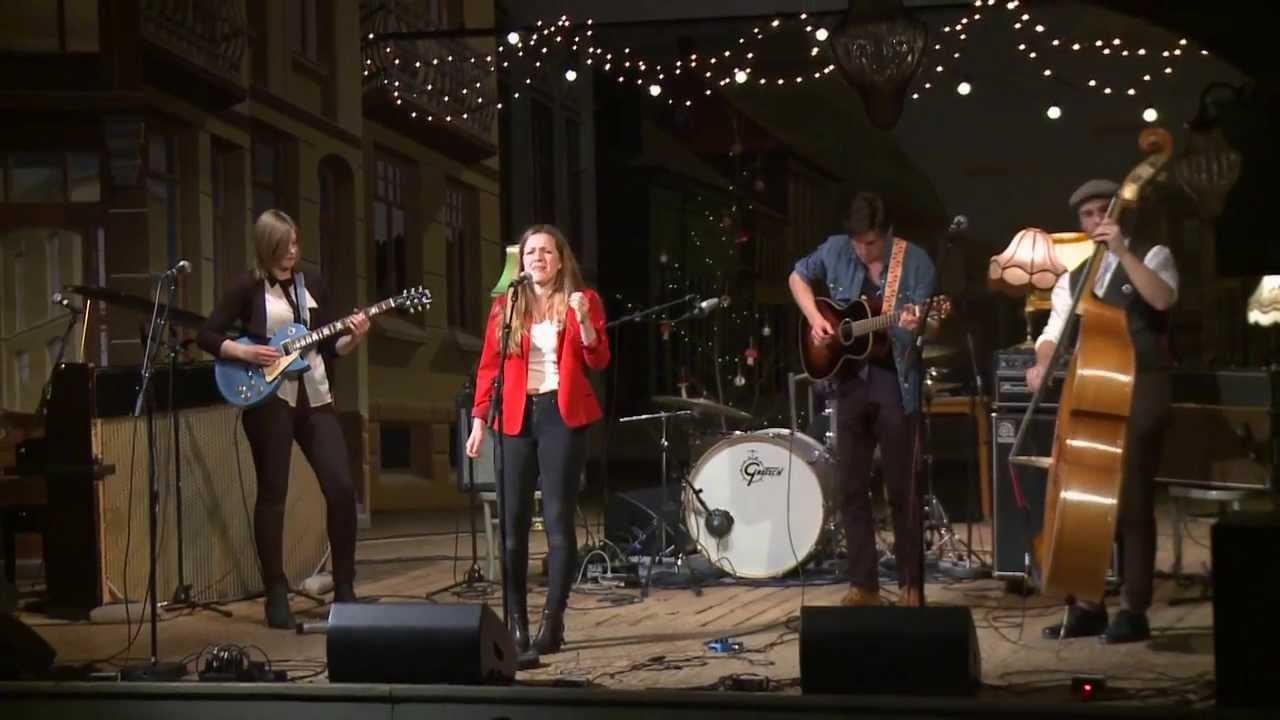 Sanne Kvitnes Band Unge Folk I Halden 2013 Youtube