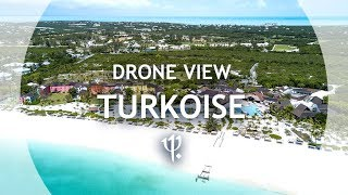 Club Med Turkoise from the sky - Turks and Caicos ...