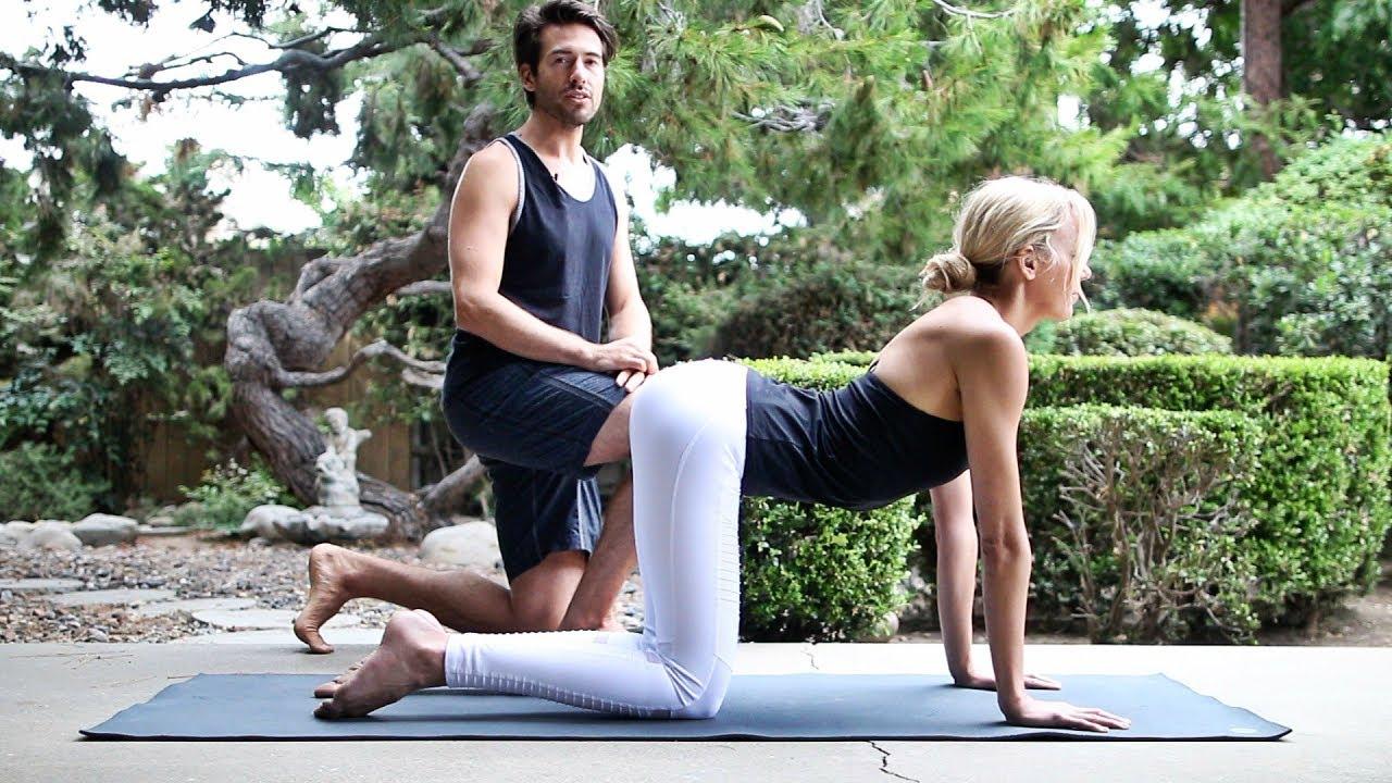 Total Body Yoga Burn Workout Vinyasa Flow Youtube