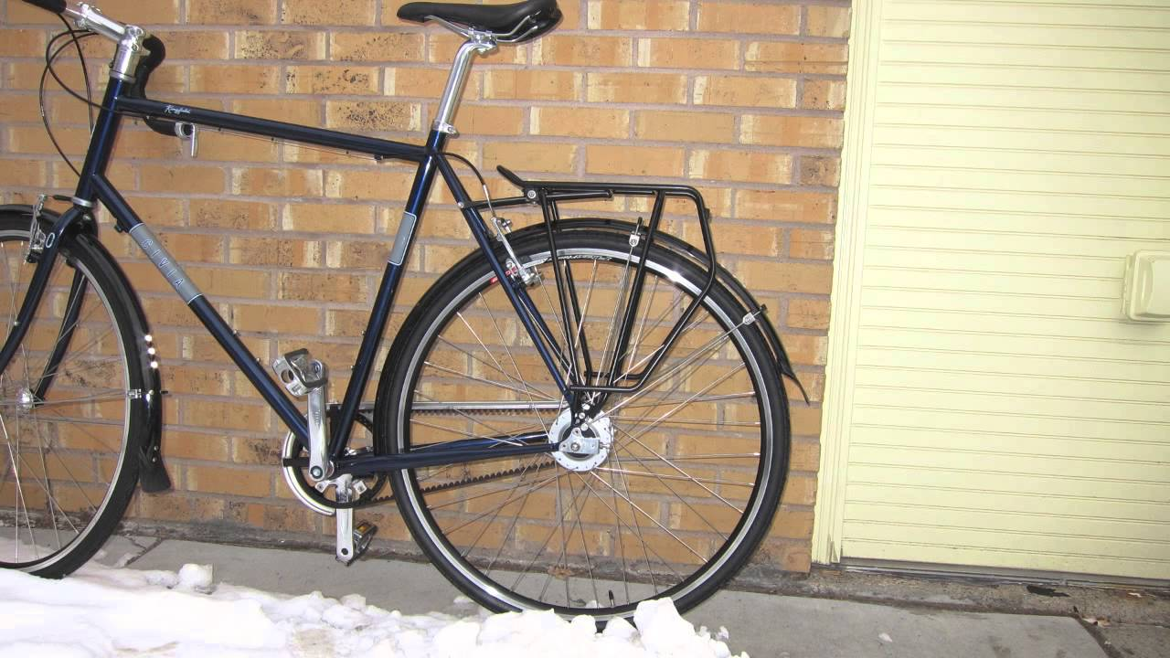 tubus cargo evo rear carrier bike rack youtube