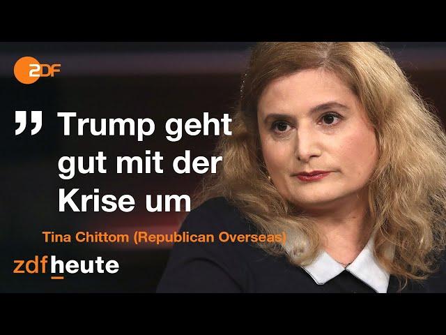 US-Amerikanerin über Donald Trumps Politik | Markus Lanz vom 07. Oktober 2020