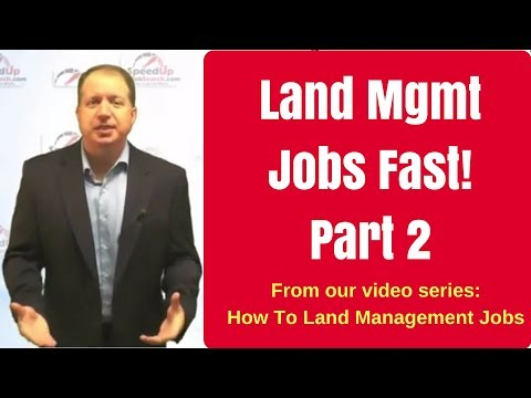 Land Management Jobs Faster - Part 2 - Building Trust Quickly!
