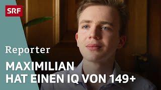 Mathematik-Genie Maximilian Janisch | Aus der Welt eines Hochbegabten | Reportage | SRF DOK