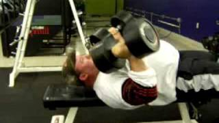 Staley Training Systems- rolling dumbell extensions- 95